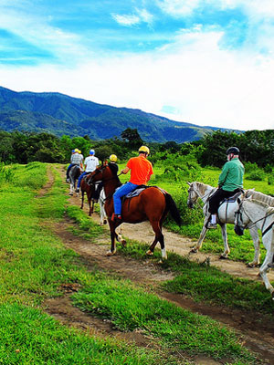 Costa Rica travel tour - Horseback Ride in the Cloud Forest of Monteverde