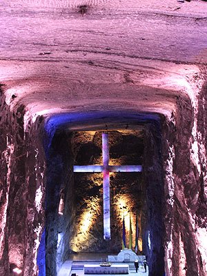 Colombia travel tour - Zipaquirá's Salt Cathedral Visit