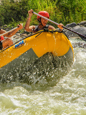 Costa Rica travel tour - Balsa River Whitewater Rafting Tour